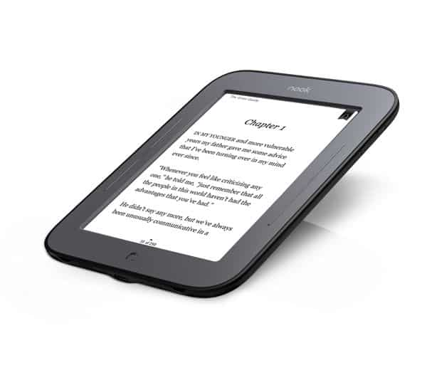 New Barnes & Noble Nook one-ups Kindle with touch-sensitive e-ink display
