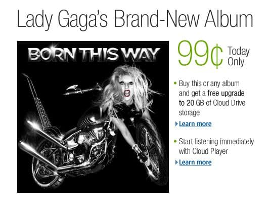 Amazon offers Lada Gaga album for 99 cents, but prepare to hurry up and wait [updated]