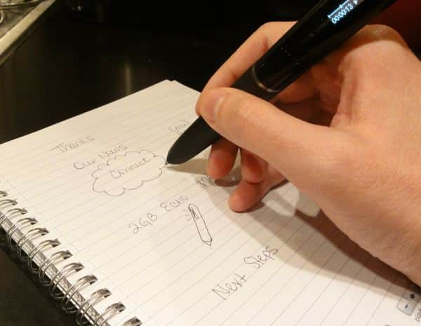 "Livescribe ""smartpen"" gains ability to share recorded notes via email, Facebook, Google Docs"