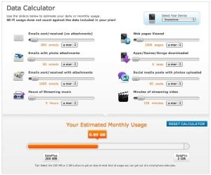 ATT data calculator 2 300x249 Reader mail: Which 3G data plan should I get for my iPhone?