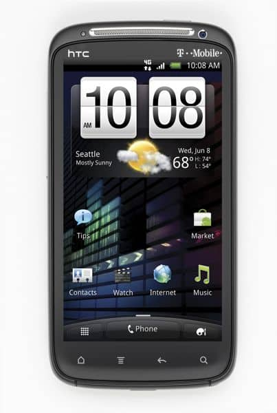 The latest Android superphone: HTC's 4.3-inch, dual-core Sensation