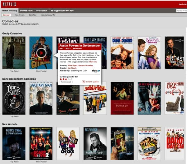 Netflix website redesign angers users, again