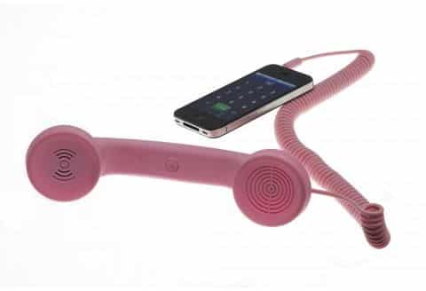 Try this: An old-school telephone handset for your new-school smartphone