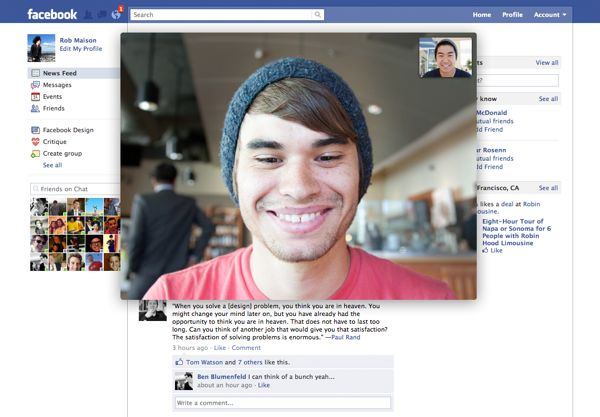 How to get started with Skype video calls on Facebook