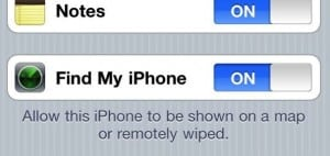 Find My iPhone settings2 300x142 How to activate Find My iPhone (quick tip)