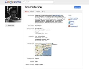 Google's plans for your Google Profile: what you need to know