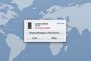 Lost iPhone no location 300x201 How my wife lost her iPhone, and got it back—the old fashioned way