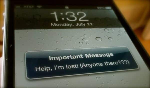 How my wife lost her iPhone, but got it back—the old-fashioned way