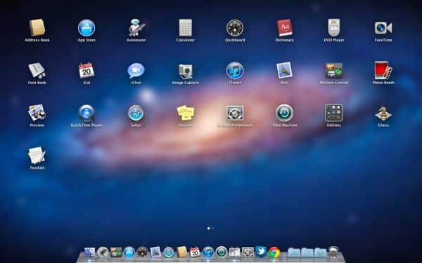 Mac Lion Launchpad Top 5 ways that Lion turns your Mac into an iPad