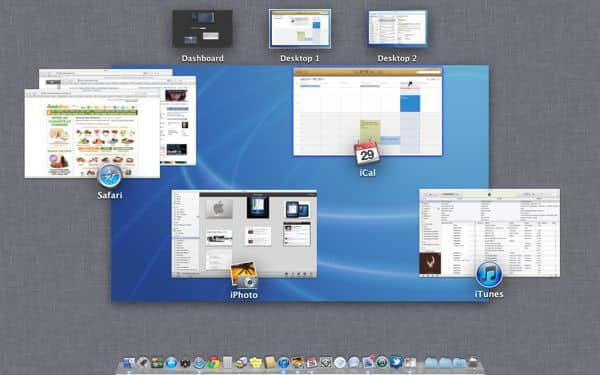 """Mac OS X Lion tip: Getting the hang of desktop """"spaces"""" in Mission Control"""