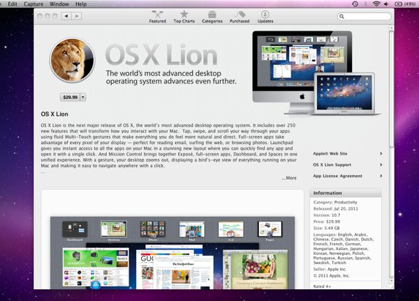"""How to install """"Lion"""" onto your Mac"""