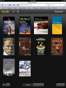 The new Kindle Cloud Reader: Your books, all on the web