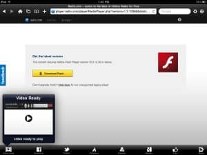 Is there an app for watching Flash videos on my iPad? (reader mail)