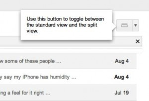 How to turn on Gmail's new preview pane