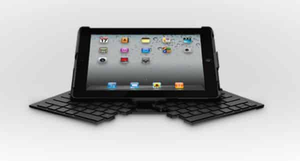 A fold-up, full-size keyboard for the iPad