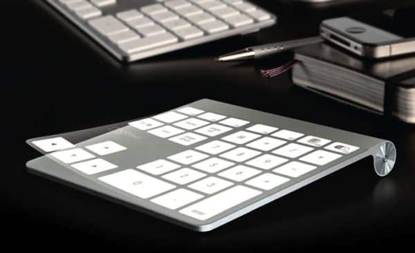 "Clear plastic film turns Apple's Magic Trackpad into Magic ""Numpad"""
