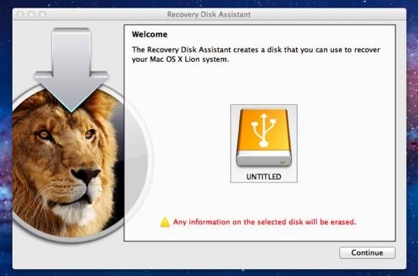 "Got ""Lion"" on your Mac? Time to create a USB recovery disk"