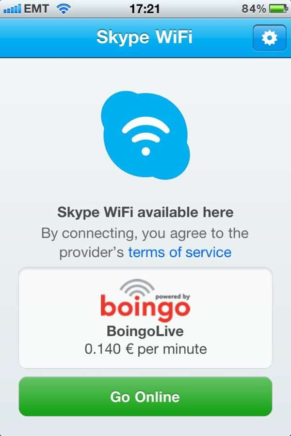 Skype offers by-the-minute Wi-Fi for iPhone, iPad, iPod Touch