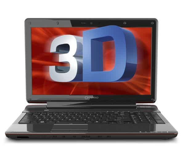 Toshiba takes a stab at glasses-free 3D with new laptop