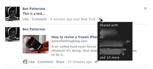 "Careful: Friends on Facebook's ""Smart Lists"" can see each other's names on your posts"