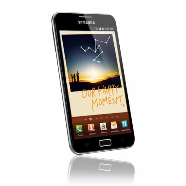 Samsung's massive 5.3-inch Galaxy Note smartphone; how big is too big?