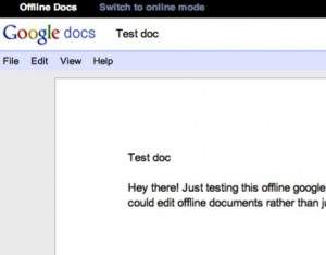 How to view your Google Docs when you're offline—or when Google is on the fritz