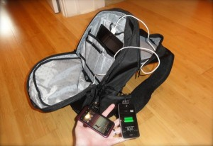 Hands-on with Powerbag, a gadget-charging backpack