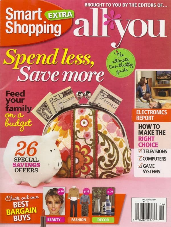 4 tips for saving on a new smartphone (from All You magazine)