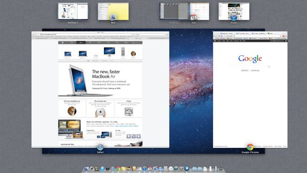 Mac OS X Lion tip: How to rearrange desktop spaces in Mission Control, for real