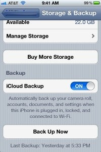 iCloud backup restore from backup1 200x300 How to restore your iPhone (or iPad) with iCloud Backup