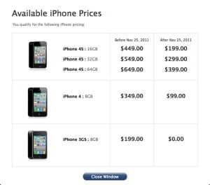 Are you eligible for a discount on the iPhone 4S? Here's how to find out