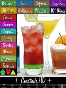 Cocktails HD 225x300 6 gotta have iPhone apps for Thanksgiving