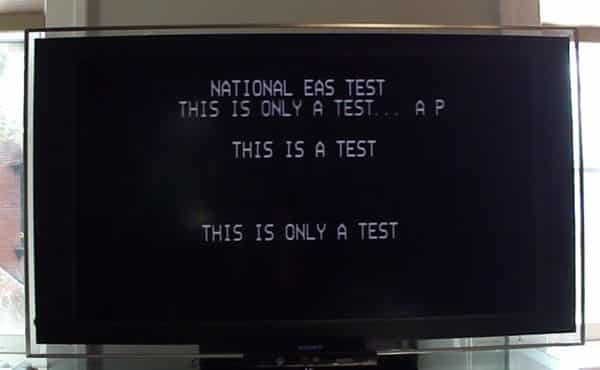 What to expect during Wednesday's Emergency Alert System test