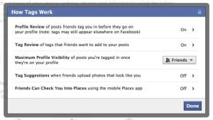 Facebook How Tags Work settings 300x169 How do I keep everyone on Facebook from seeing my photos? (reader mail)