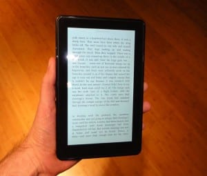 Kindle Fire book 300x255 Hands on with the $200 Kindle Fire: You get what you pay for