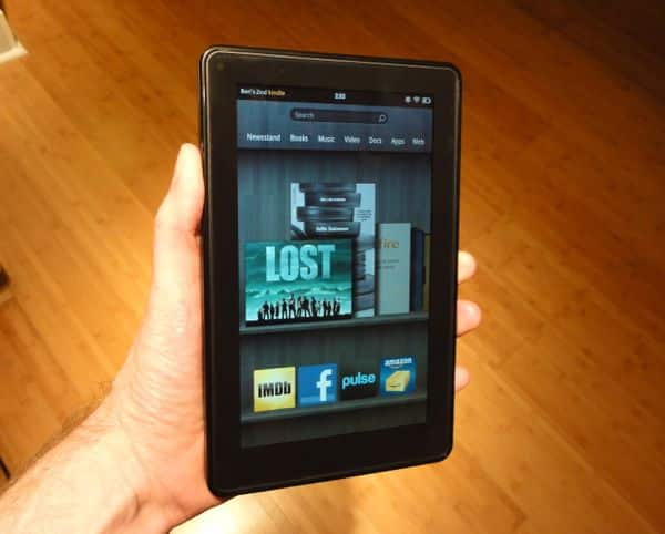 Kindle Fire home page Hands on with the $200 Kindle Fire: You get what you pay for