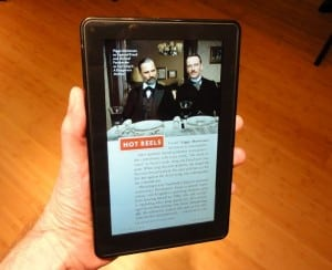 Kindle Fire magazine 300x244 Hands on with the $200 Kindle Fire: You get what you pay for