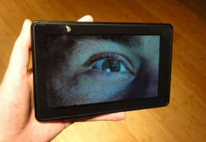 Kindle Fire video 300x207 Hands on with the $200 Kindle Fire: You get what you pay for
