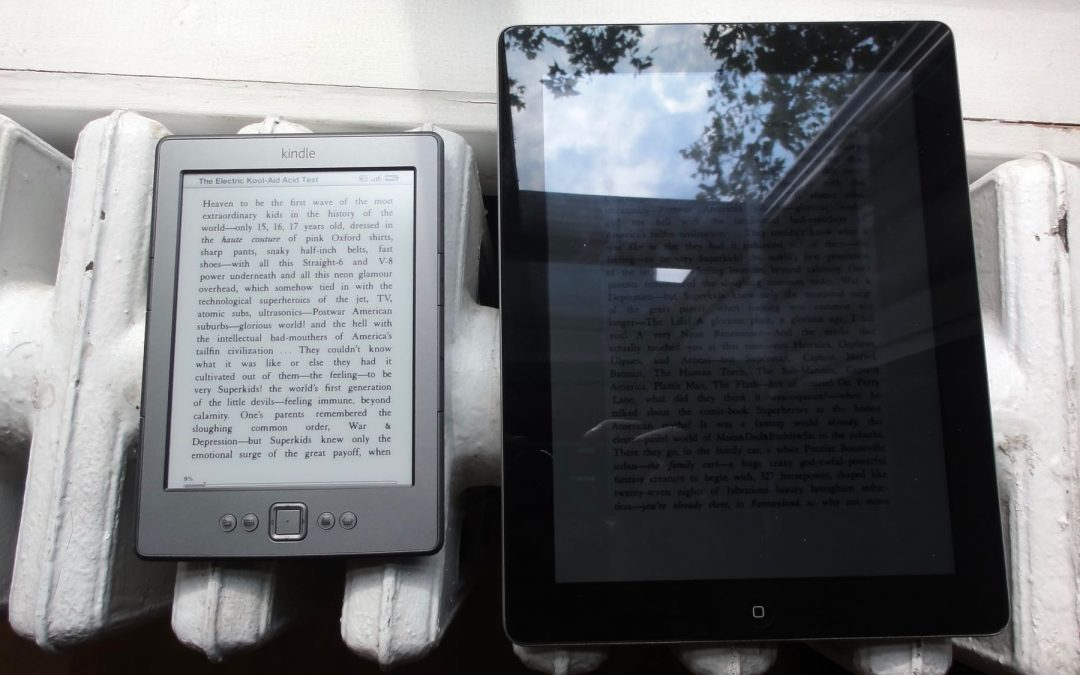 What's the difference between a Kindle screen and an iPad