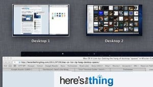 Why won't Mission Control label my desktops? (Mac OS X Lion tip)