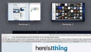 Why won't Mission Control label my desktops? (Mac OS X Lion tip)