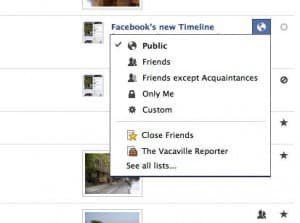 3 privacy tips for locking down your Timeline on Facebook
