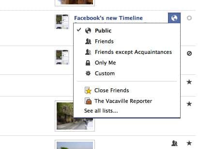 6 privacy tips for locking down your Timeline on Facebook | here
