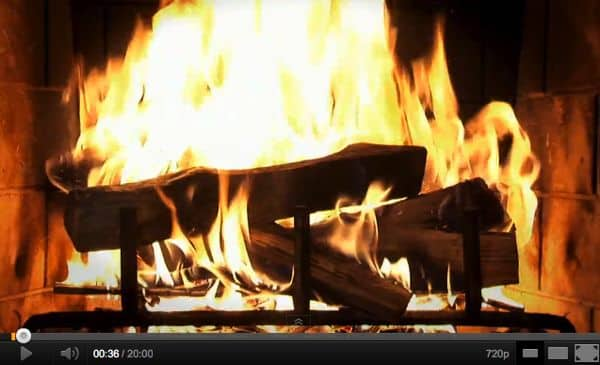 The five best YouTube Yule logs