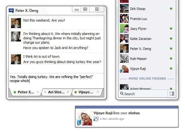 How to bring Facebook chat and the ticker to your Windows desktop