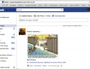 "How to make your Facebook news feed default to ""most recent"" stories"