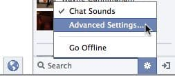 How to choose who can see you in Facebook's chat sidebar