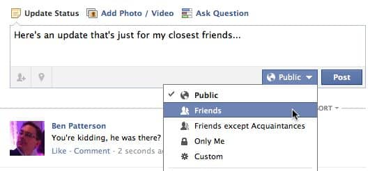 Facebook tip: Double-check your privacy settings before you post