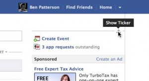 How to hide the Facebook ticker, for real
