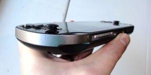 PlayStation Vita joysticks and controls